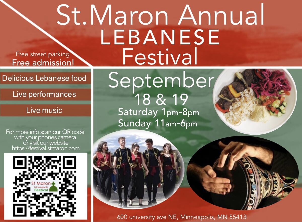 St Maron's Festival 2021